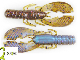 """X Zone Lures Muscle Back Craw 4""""309 ***NIEUW***"""