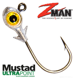 Z Man Trout Eye Finesse Jighead 3/16oz (5,3gr) Gold