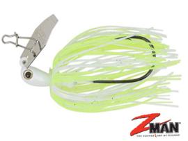 Z Man Micro Chatterbait Micro 1/8 oz (3,5 gram) Chartreuse/White