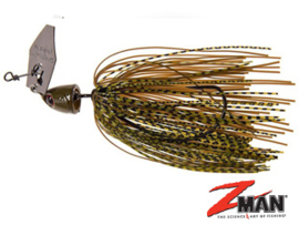 Z Man Chatterbait Freedom 1/2oz (plm 14 gr) Green Pumpkin
