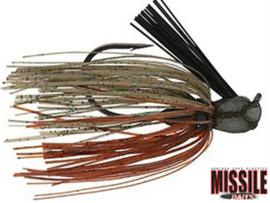 Missile Baits Ike's Mini Flip Jig 1/2oz (plm 14 gr) Candy Grass