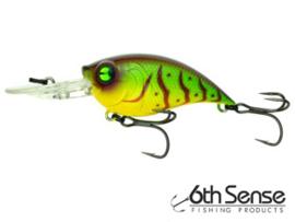 6th Sense Fishing Curve 55 Neon Craw