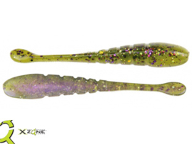 "X Zone Lures Finesse Slammer 3,25"" Bass Candy"