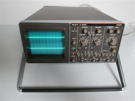 Philips 15MHz 2 Channel Oscilloscope z.g.a.n.