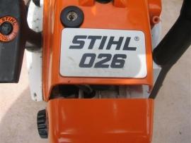 Stihl type 026 top beste motorkettingzaag z.g.a.n.