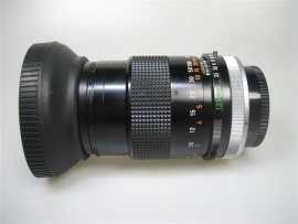 Canon telelens met zonnekap en 2 x beschermings doppen