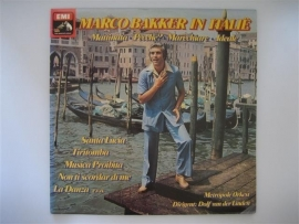 Marco Bakker in Italié, met het Metropole Orkest NR.LP00122