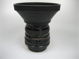 Sigma mini-wide lens 1:2.8 f=28mm voor Canon camera met zonnekap
