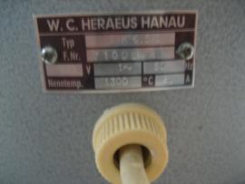 Heraeus-Hanau Smeltoven Professioneel voor Goud & Zilver voor de vakvrouw/man