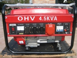 Aggregaat OHV AVR3 4,5 KWA nieuw