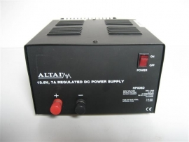 Power supply dc-13,8 volt nieuw