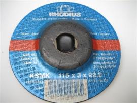 Slijpschijven geschikt voor haakse slijpmachines NR.RH125322R