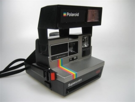 Polaroid Supercolor 635 instant camera z.g.a.n.