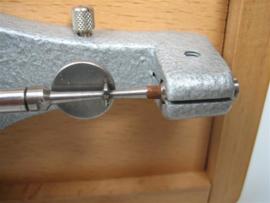 Micro tester JKA nieuw in houten box uit ons horloge atelier