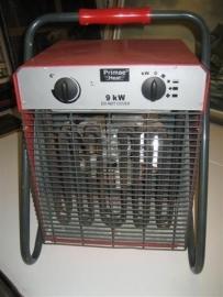 Bouwdroger Ventilatorkachel 9kW - 400V z.g.a.n.