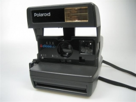 Polaroid camera 636 met close up, film 600 z.g.a.n.