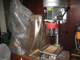 Boormachine met verschillende snelheden uit ons atelier