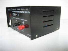 Power Supply DC-13,8 volt met koelventilator nieuw