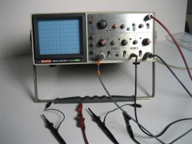 Hitachi 2 Channels Oscilloscope nieuw