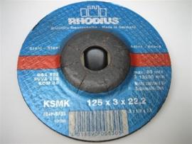 Afbraamschijven geschikt voor haakse slijpmachines NR.RH125622BS
