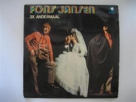 Fons Jansen 3 x andermaal, dubbel LP NR.LP00125