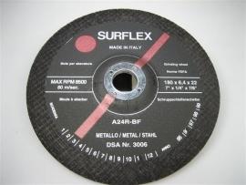 Afbraamschijven geschikt voor haakse slijpmachines 18 cm NR.SU18064EX