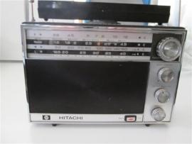 Hitachi marine wereldradio met pijl instrument i.z.g.s.