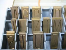 Gravograph Graveer Letters Gesorteerd 76 Stuks