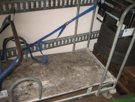 Plateauwagen met plateauvering gebruikt