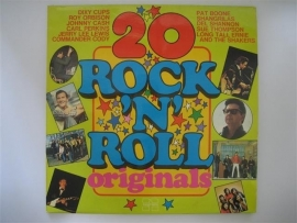 20 Rock & Roll originals, o.a. met Roy orbison etc. NR.LP00136