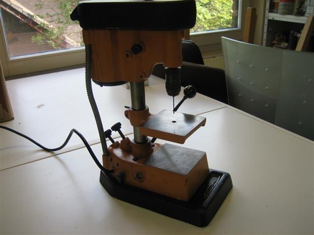 Goudsmid horloge tafelboormachine uit ons atelier