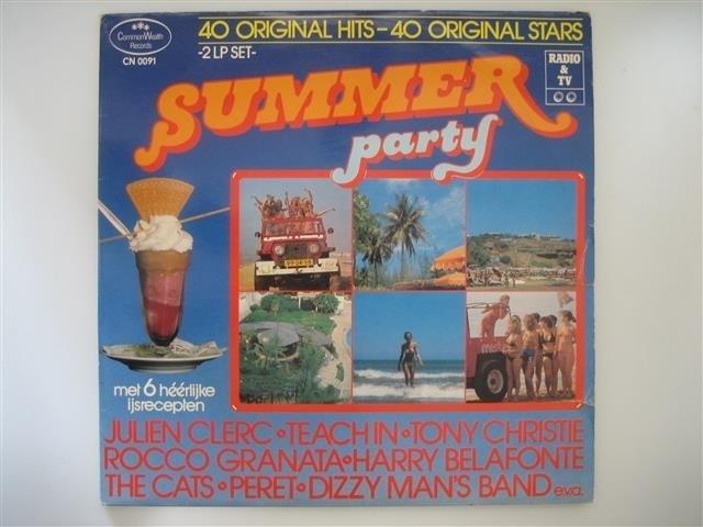 SUMMER PARTY 40 Orginal Hits, met o.a. The Cats NR.LP00144