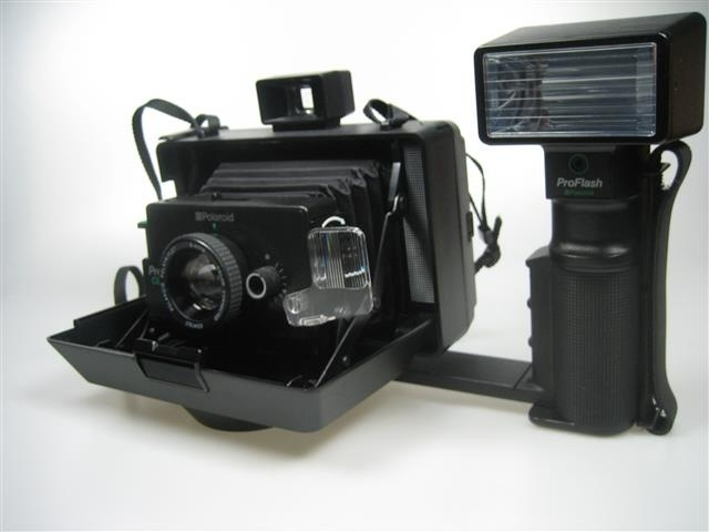 Polaroid Pro Pack Pro flash Camera z.g.a.n.