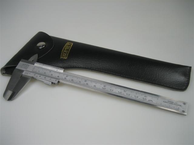 Somet schuifmaat 0 t/m 1.5 cm inox extra 1/120 in.