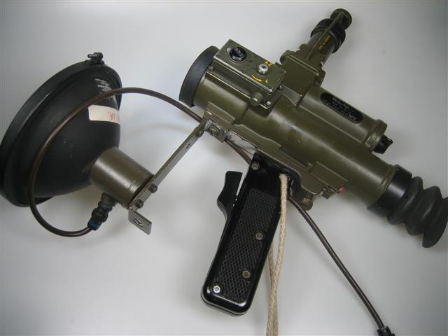 Nachtkijker infrarood van Philips Usfa 12 volt met accu en draagtas