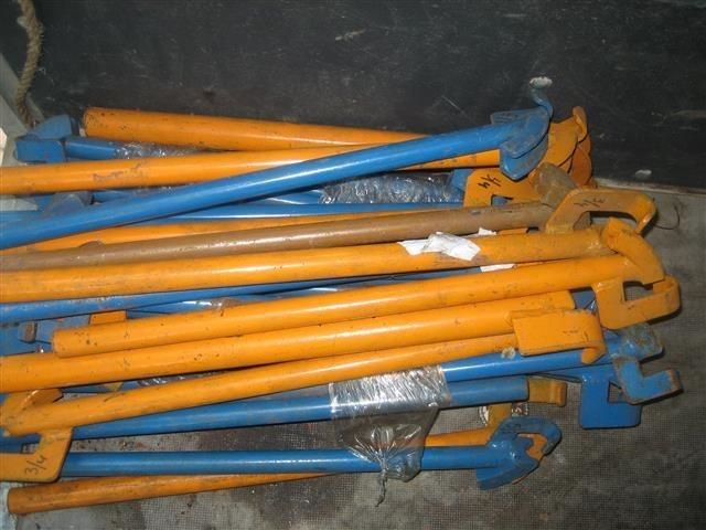 Nieuwe partij buigijzers voor loodgieters werkzaamheden
