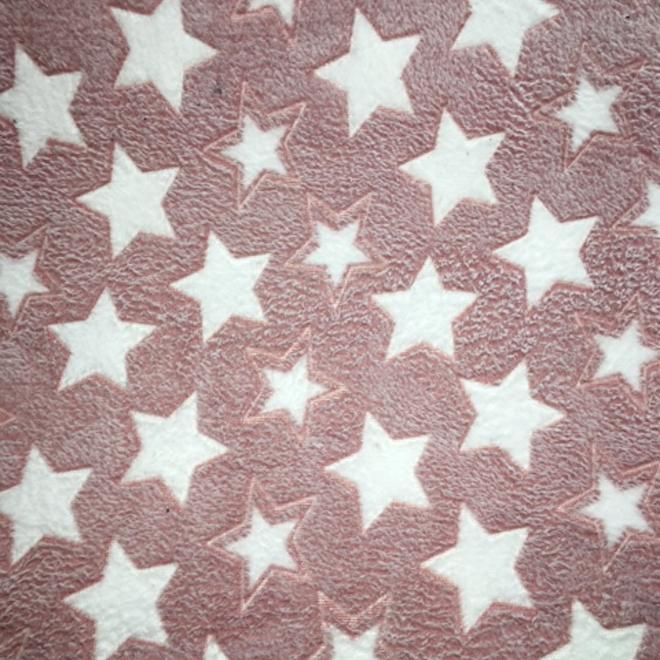 Coral Fleece - Roze Ster