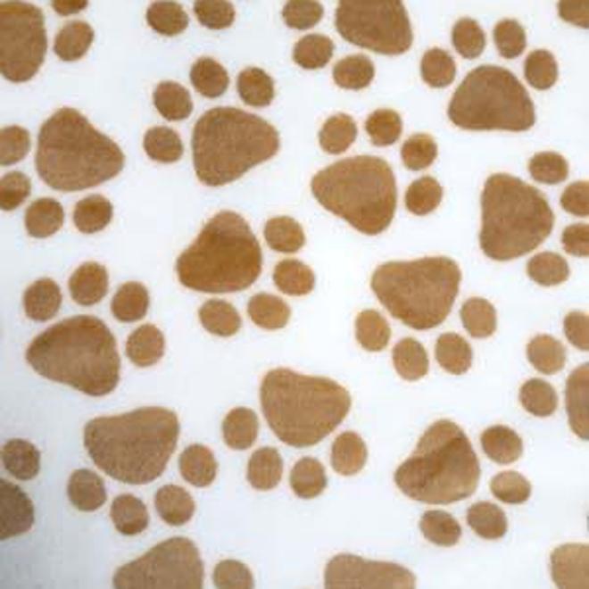 Wellness Fleece - Ecru, Bruine Poot