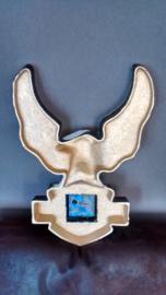 Harley Davidson Logo - Gold Plated Cast Iron