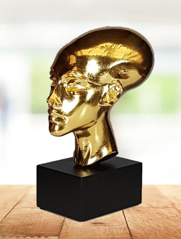 24ct pure Goldplated Armana Princess Buste