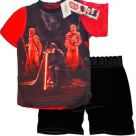 Star wars - stoere shortama/ pyjama/zomerset - zwart / rood