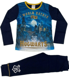 Harry Potter pyjama - Kinder/Tiener - meisjes - donkerblauw