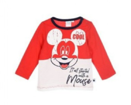 Mickey Mouse katoenen longsleeve