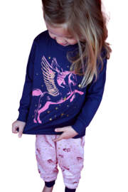 Frogs and dogs - meisjes - Unicorn - kleuter-kinder - pyjama