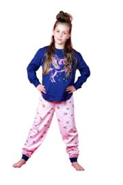 Frogs and dogs - Meisjes  - kinder-tiener - Unicorn - pyjama