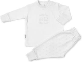 Frogs and Dogs kraamcadeau- pyjama - in wit