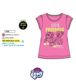 My Little Pony - Kinder - t-shirt - Glow in the dark