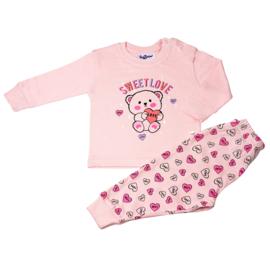 Fun2wear - Baby/Peuter - meisjes - pyjama - Sweet Love