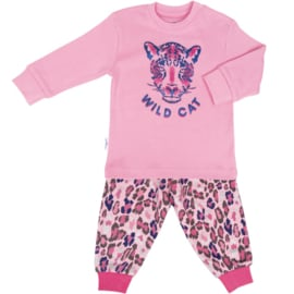 Frogs en Dogs - Wild Cat pyjama - hippe panter print