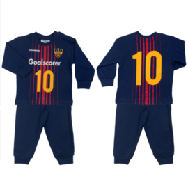 Fun2wear - Goalscorer - Kinder - Baby /Peuter/Kleuter/ Kinder pyjama - Navy